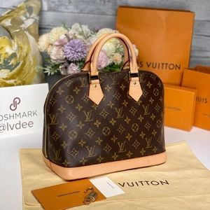 ✅Authentic ✅LOUIS VUITTON Alma monogram bag